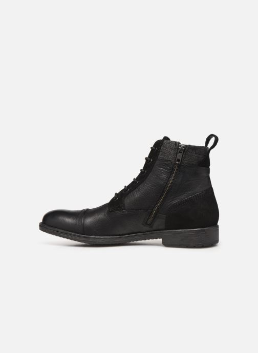 Boots en enkellaarsjes Geox U JAYLON high Zwart voorkant