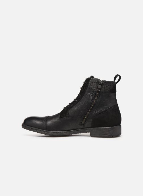 Stiefeletten & Boots Geox U JAYLON high schwarz ansicht von vorne