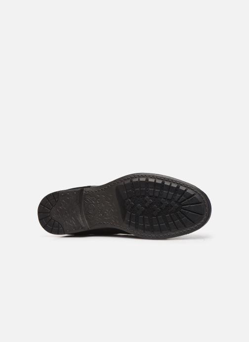 Stiefeletten & Boots Geox U JAYLON high schwarz ansicht von oben