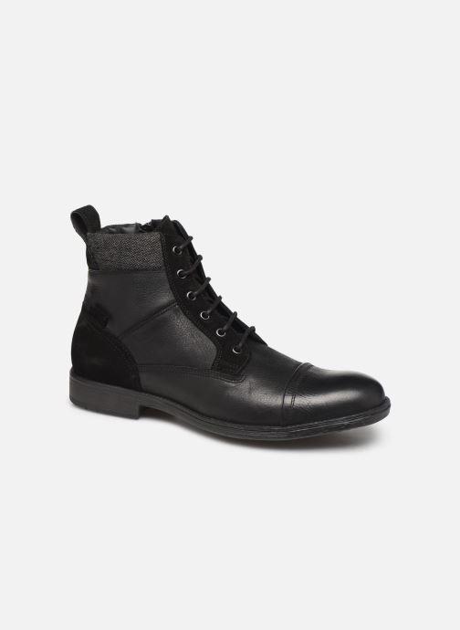 Bottines et boots Geox U JAYLON high Noir vue détail/paire