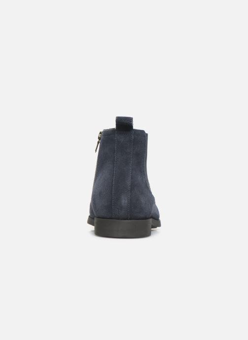 Bottines et boots Geox U Kaspar Bleu vue droite