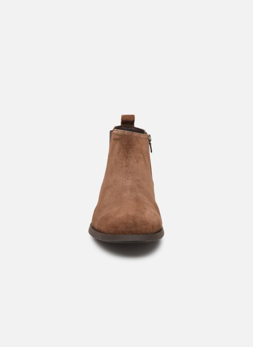 Ankle boots Geox U Kaspar Brown model view