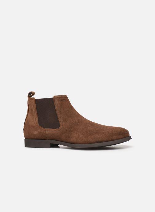 Bottines et boots Geox U Kaspar Marron vue derrière