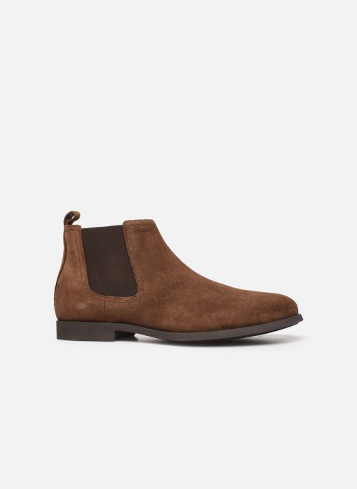 Ankle boots Geox U Kaspar Brown back view