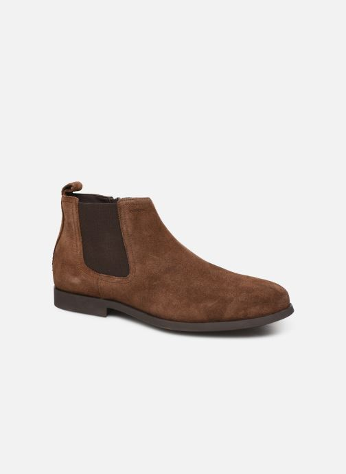 Bottines et boots Geox U Kaspar Marron vue détail/paire