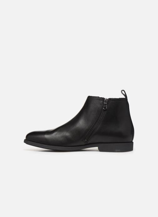 Bottines et boots Geox U Kaspar Noir vue face