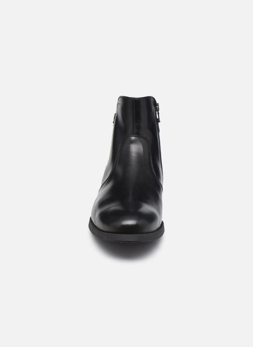 Stiefeletten & Boots Geox U Kaspar schwarz schuhe getragen