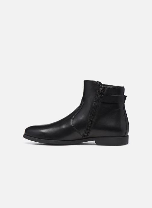 Stiefeletten & Boots Geox U Kaspar schwarz ansicht von vorne