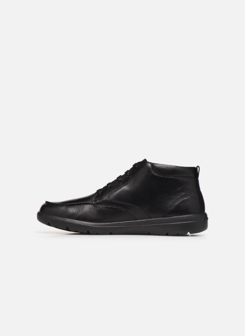 Sneakers Geox U LEITAN Zwart voorkant