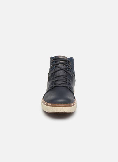 Baskets Geox U MATTIAS B ABX Bleu vue portées chaussures