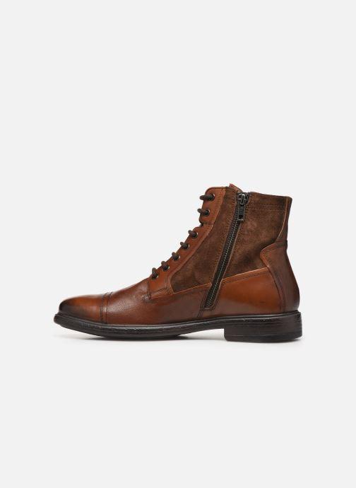Stiefeletten & Boots Geox U Terence braun ansicht von vorne