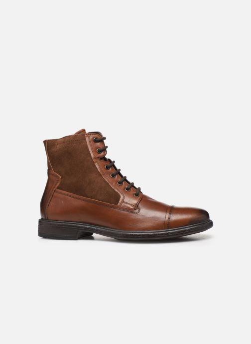 Stiefeletten & Boots Geox U Terence braun ansicht von hinten