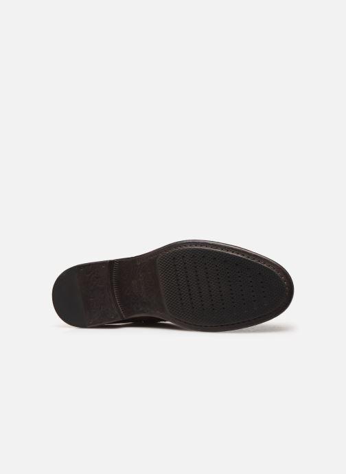 Stiefeletten & Boots Geox U TERENCE braun ansicht von oben