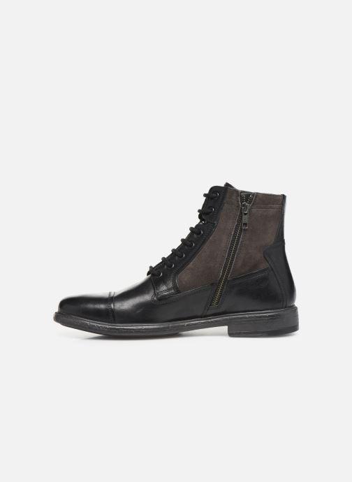 Boots en enkellaarsjes Geox U Terence Zwart voorkant