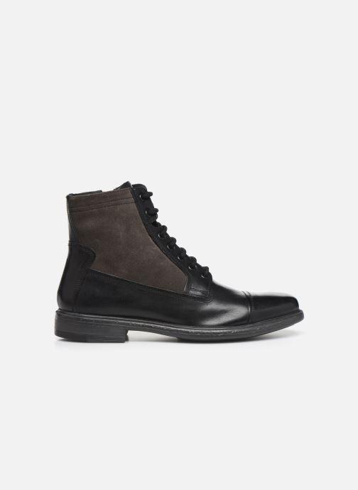 Boots en enkellaarsjes Geox U TERENCE Zwart achterkant