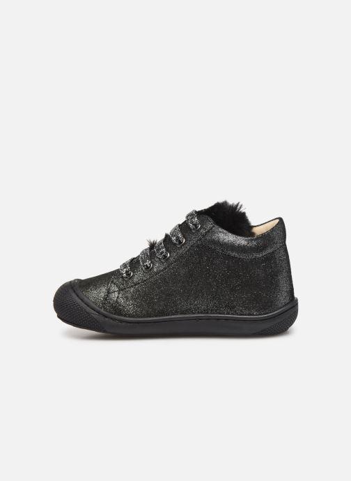 Boots en enkellaarsjes Naturino Woolly Zilver voorkant