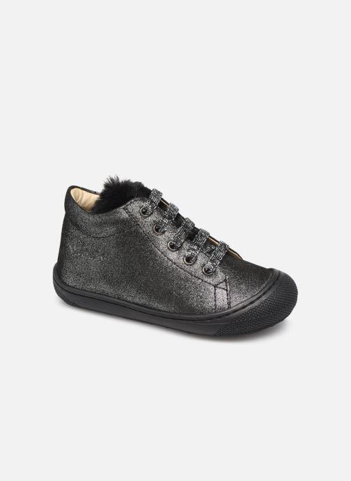 Boots en enkellaarsjes Naturino Woolly Zilver detail