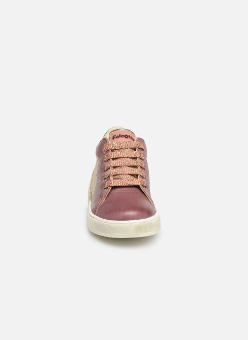 Bottines et boots Naturino Heart Rose vue portées chaussures