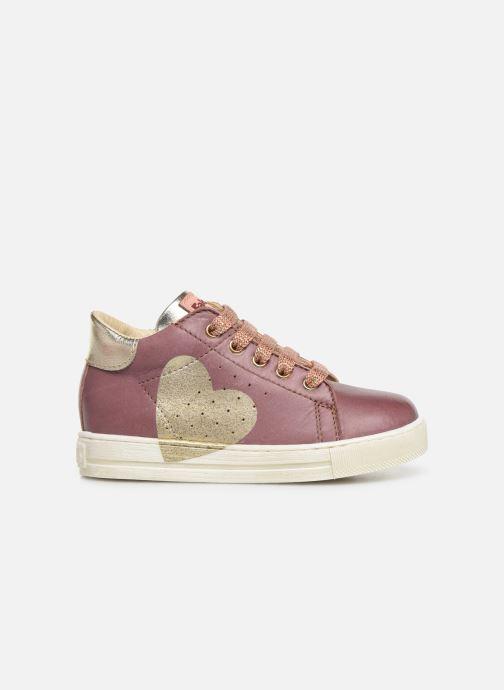 Bottines et boots Naturino Heart Rose vue derrière