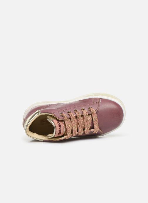 Stiefeletten & Boots Naturino Heart rosa ansicht von links