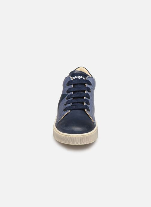 Bottines et boots Naturino Venus Bleu vue portées chaussures