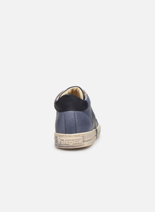 Bottines et boots Naturino Venus Bleu vue droite