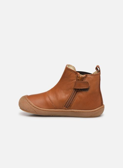 Ankle boots Naturino Sally Brown front view