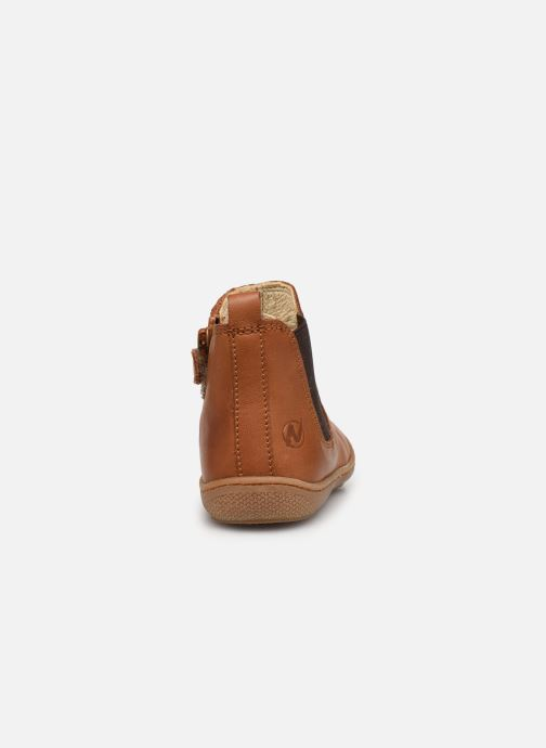 Ankle boots Naturino Sally Brown view from the right