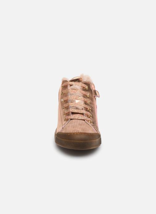 Sneakers Naturino Schans Zip Roze model