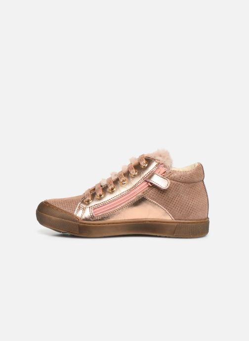 Sneakers Naturino Schans Zip Roze voorkant