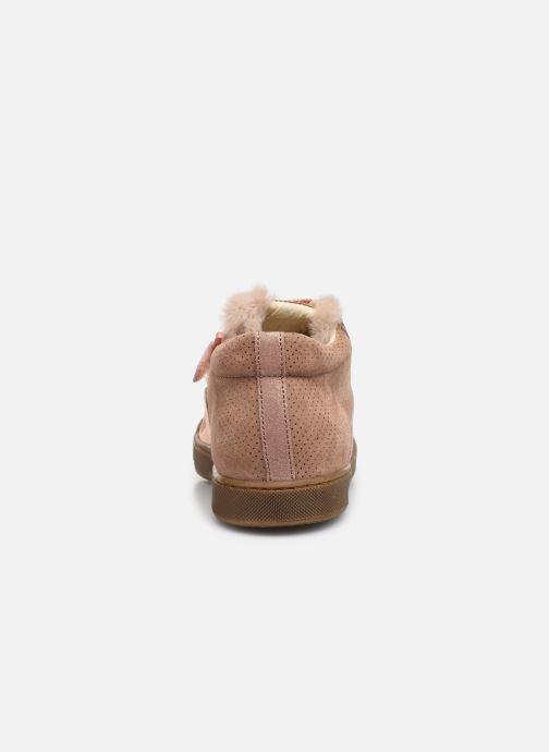 Sneakers Naturino Schans Zip Roze rechts