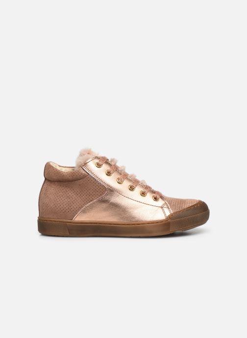 Sneakers Naturino Schans Zip Roze achterkant