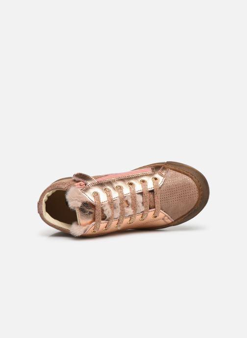 Sneakers Naturino Schans Zip Roze links