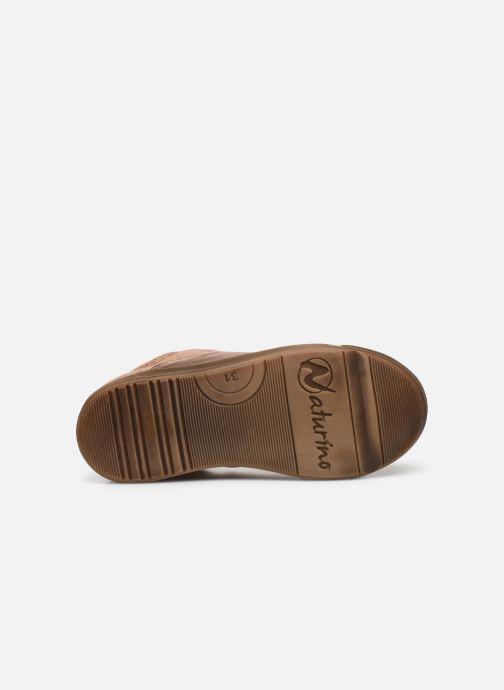 Sneakers Naturino Schans Zip Roze boven