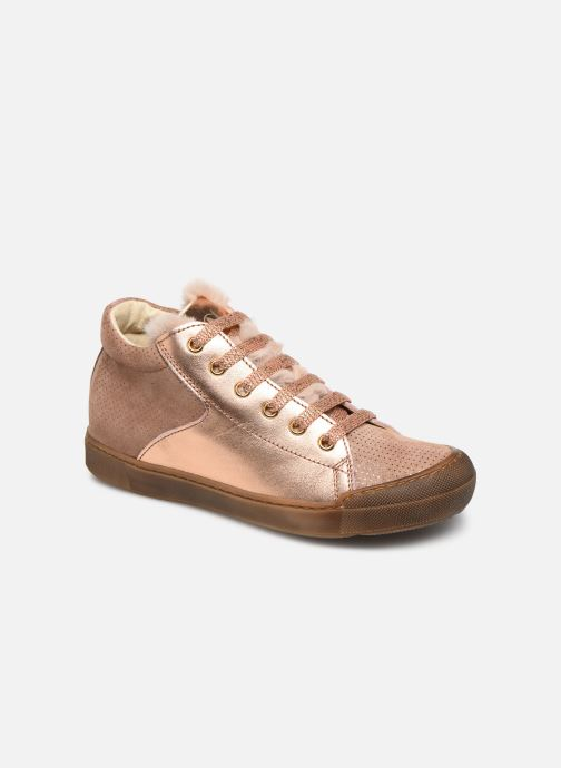 Sneakers Naturino Schans Zip Roze detail