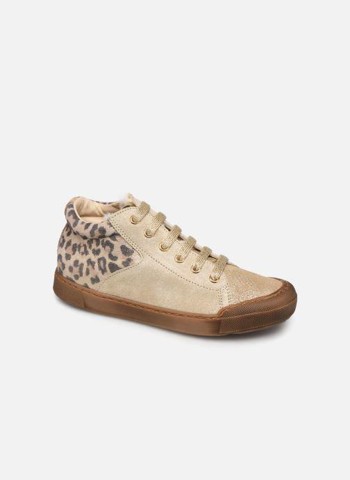 Baskets Naturino Schans Zip Or et bronze vue détail/paire