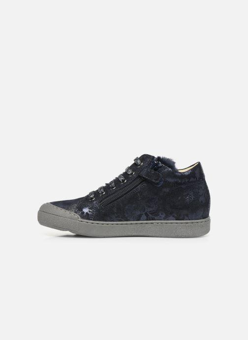 Sneakers Naturino Burg Zip Blauw voorkant