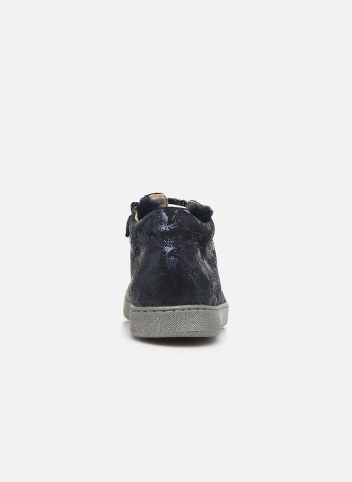 Sneakers Naturino Burg Zip Blauw rechts