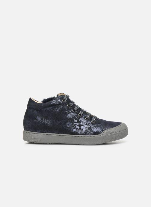 Sneakers Naturino Burg Zip Blauw achterkant