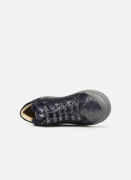 Sneakers Naturino Burg Zip Blauw links