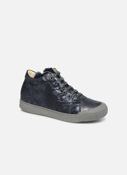 Sneakers Naturino Burg Zip Blauw detail