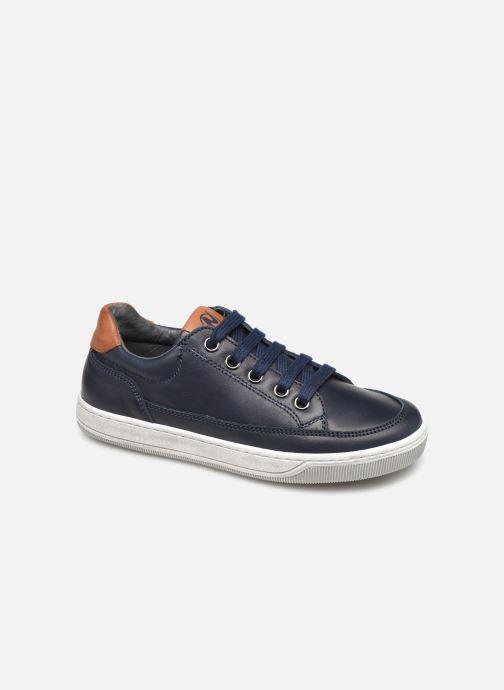 Baskets Naturino Crus zip Bleu vue détail/paire