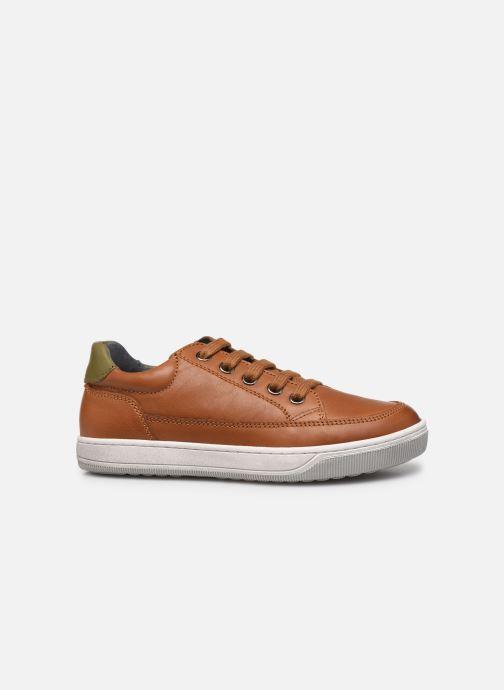 Sneakers Naturino Crus zip Bruin achterkant