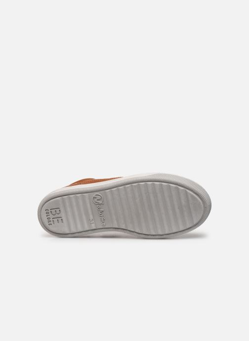 Sneakers Naturino Crus zip Bruin boven