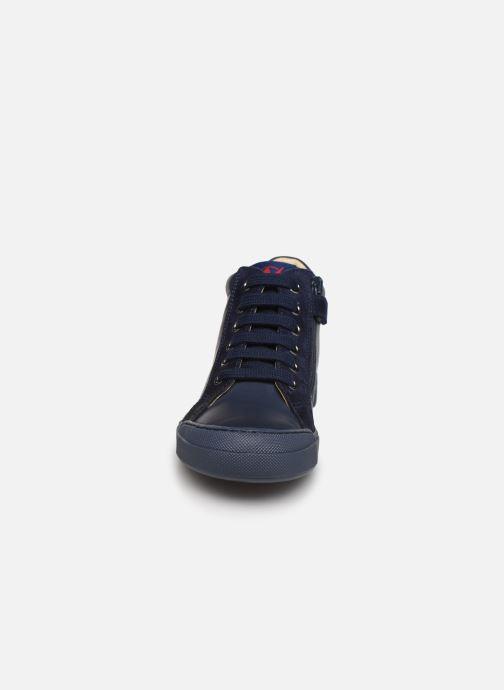 Baskets Naturino Dord zip Bleu vue portées chaussures