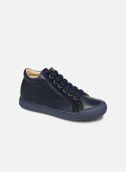 Baskets Naturino Dord zip Bleu vue détail/paire