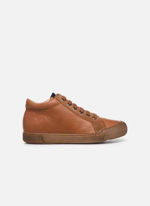 Sneakers Naturino Dord zip Bruin achterkant
