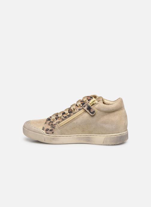 Sneakers Naturino Dord zip Goud en brons voorkant