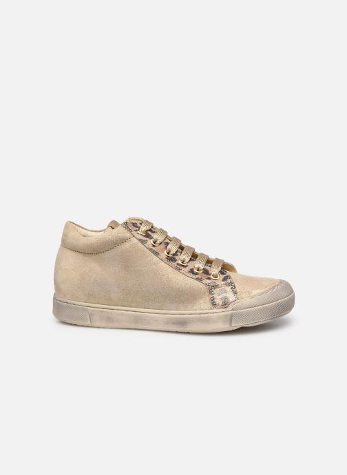Sneakers Naturino Dord zip Goud en brons achterkant