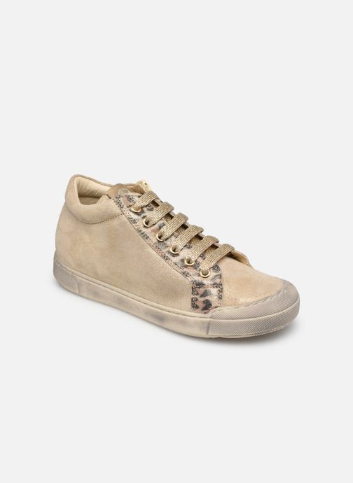 Sneakers Naturino Dord zip Goud en brons detail